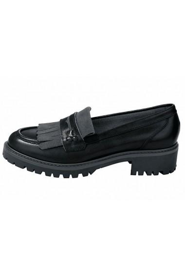 Pantofi Heine 055446 negru - els