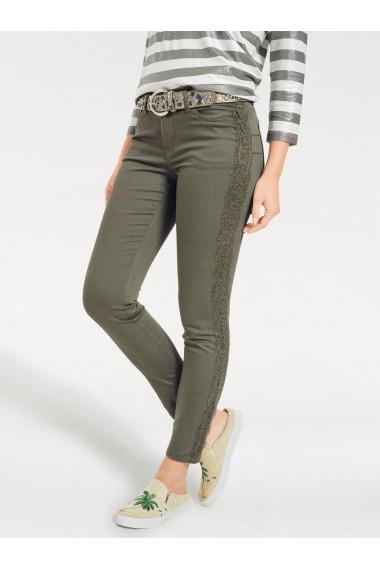 Pantaloni mignona 055576 heine CASUAL Verde