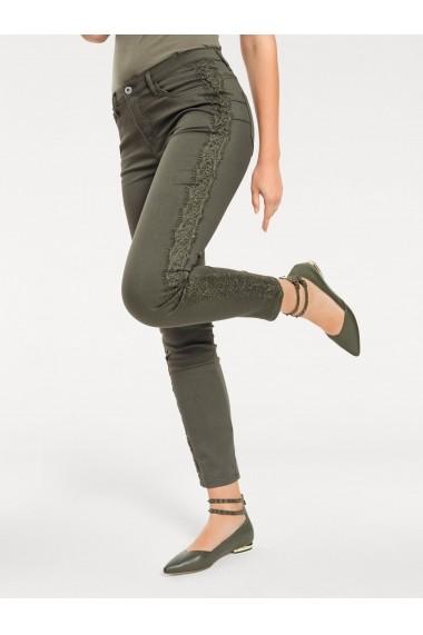 Pantaloni mignona 055576 heine CASUAL Verde - els