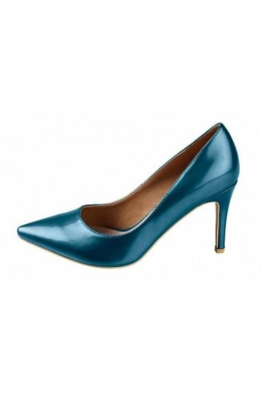 Pantofi cu toc Heine 059239 albastru