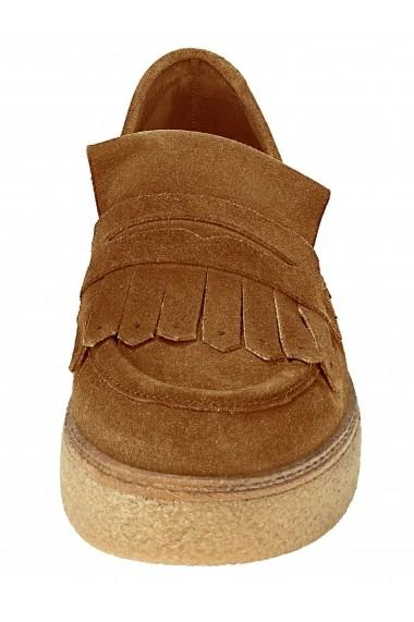 Pantofi Heine 060195 maro-coniac