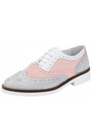 Pantofi Heine 061259 roz