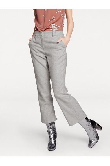 Pantaloni heine STYLE 063541 gri-argintiu - els