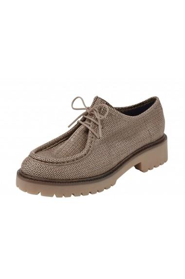 Pantofi Heine 069692 crem