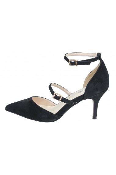 Pantofi cu toc Heine 072398 negru