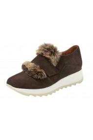 Pantofi sport casual Heine 072446 maro - els