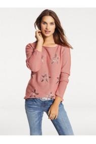 Pulover heine CASUAL 074735 roz