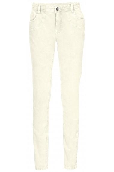 Pantaloni raiati heine CASUAL 074983 alb - els