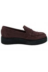 Pantofi Heine 076456 bordo - els