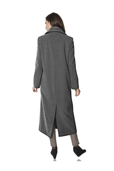 Palton heine TIMELESS 077701 gri-melanj