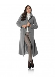 Palton heine TIMELESS 077701 gri-melanj - els