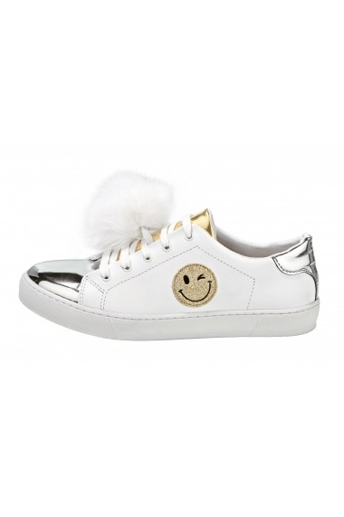 Pantofi sport Heine 078008 alb