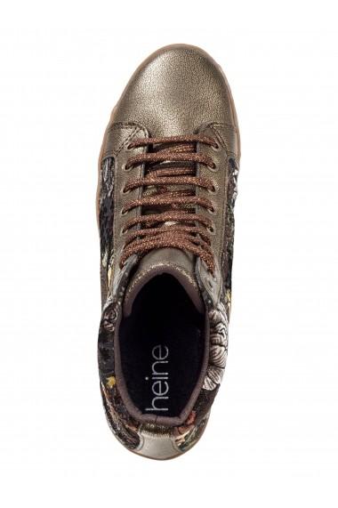 Pantofi sport Heine 079578 bronz, verde
