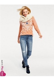 Bluza heine CASUAL 082661 portocaliu