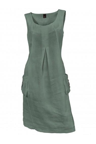 Rochie de zi heine CASUAL 084156 verde - els