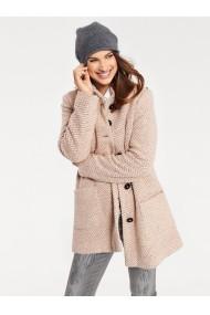 Palton heine CASUAL 086521 roz