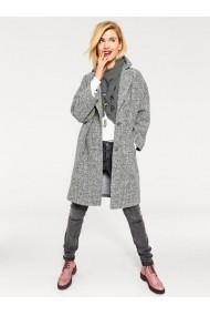 Palton heine CASUAL 091120 gri - els
