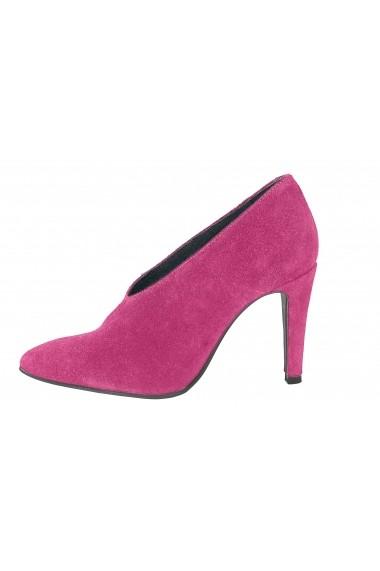 Pantofi cu toc Heine 092012 roz