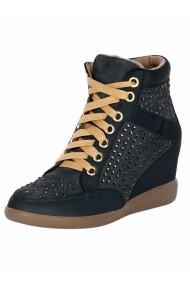 Pantofi sport casual Heine 097299 gri
