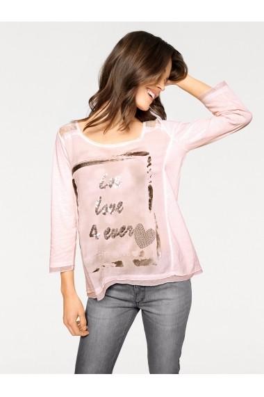 Bluza heine CASUAL 097987 roz