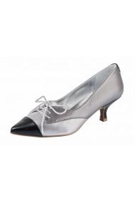 Pantofi cu toc Heine 10582348 Argintiu