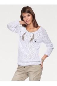 Пуловер heine CASUAL 12182744 Бял