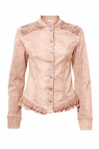 Jacheta din denim heine CASUAL 135929 Roz