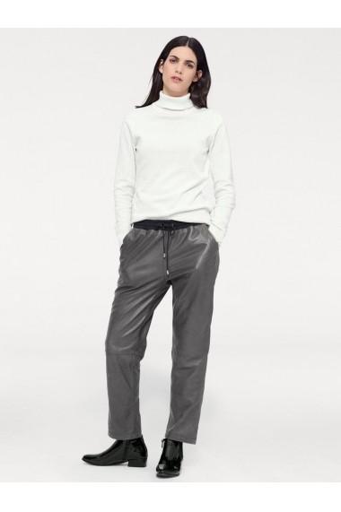 Pantaloni din piele heine STYLE 151170 gri