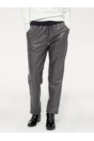 Pantaloni din piele heine STYLE 151170 gri - els