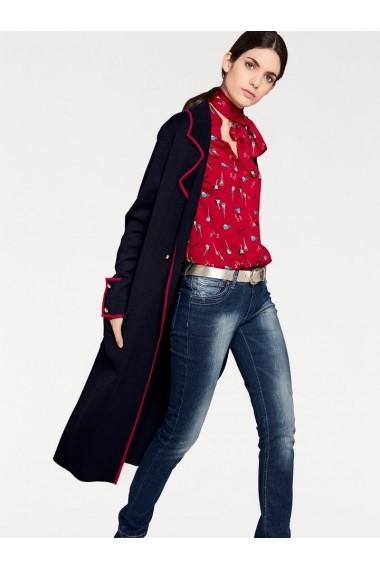Palton heine STYLE 151211 bleumarin - els