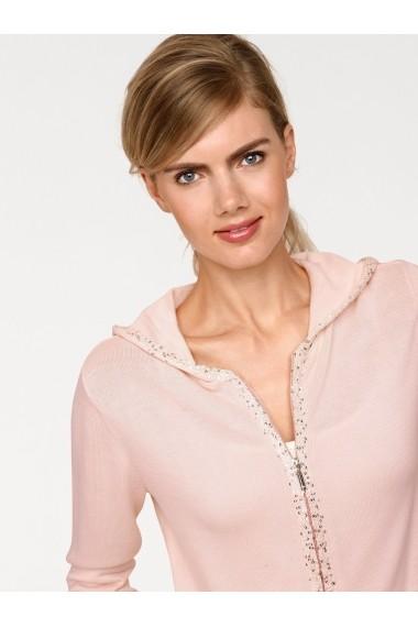 Hanorac heine CASUAL HNE-170865 roz