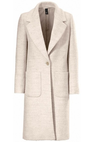 Palton heine CASUAL 173373 crem - els