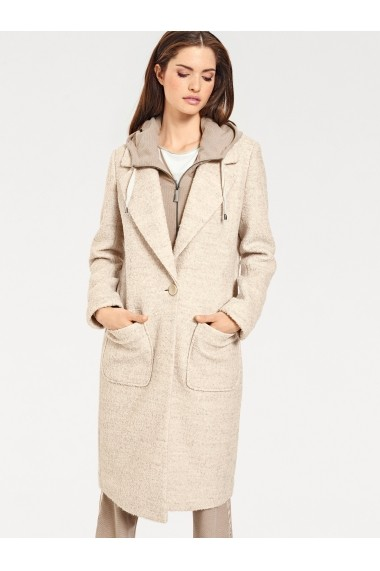Palton heine CASUAL 173373 crem