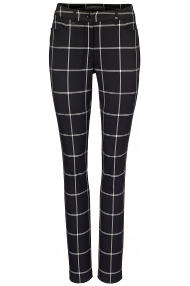 Pantaloni drepti ASHLEY BROOKE by Heine 173933 negru