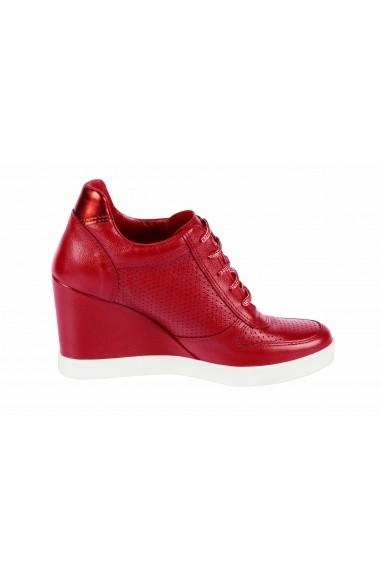 Pantofi sport casual Heine 17447105 rosu