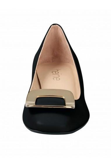 Pantofi cu toc cu toc Heine 22428609 negru