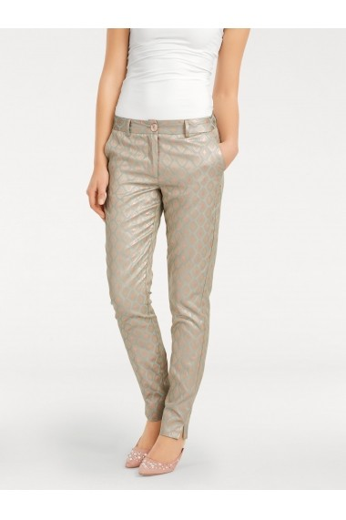 Pantaloni drepti ASHLEY BROOKE by Heine 34213626 verde