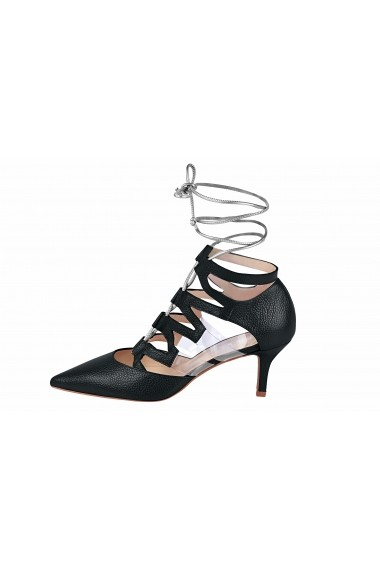 Pantofi cu toc Heine 44808960 negru