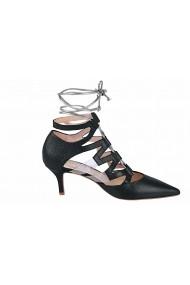 Pantofi cu toc Heine 44808960 negru - els