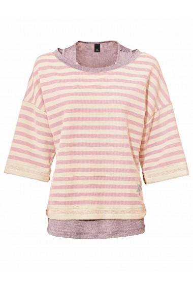 Set pulover si top heine CASUAL 48956228 Roz