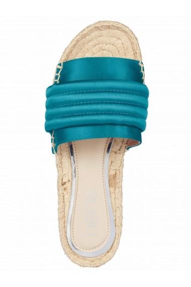 Pantofi Heine 62705506 gri - els