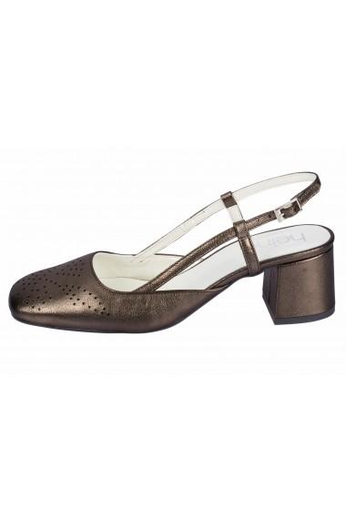 Pantofi cu toc cu toc Heine 71182432 gri - els