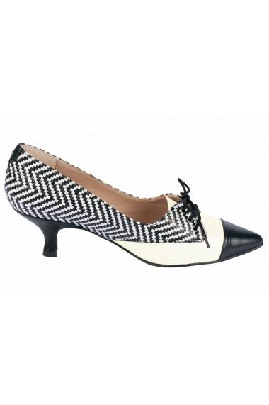 Pantofi cu toc Heine 73936216 negru