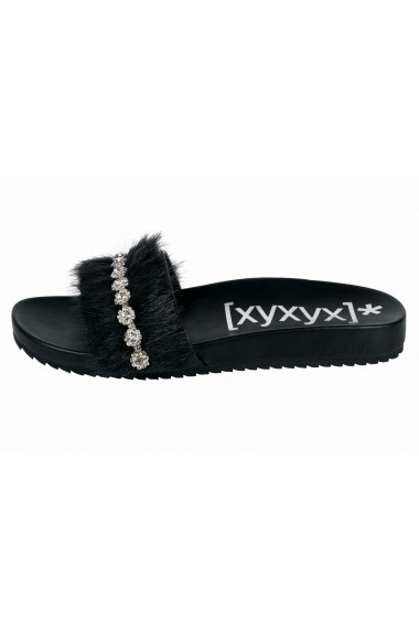 Papuci XYXYX 74048456 negru