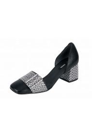 Pantofi cu toc ZINDA 89018405 negru