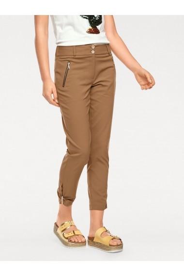 Pantaloni heine TIMELESS 97804357 Maro - els