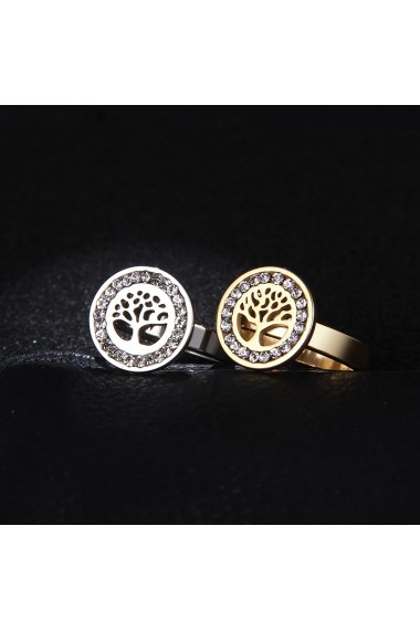 Inel Beauty Love Tree of Life Stainless steel Handmade with Love