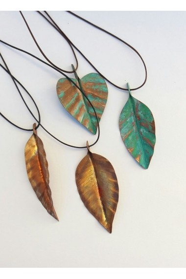 Pandantiv handmade Opaline Crafts cupru