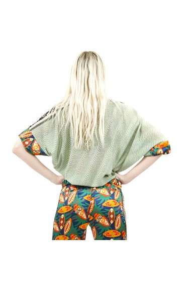 Pantaloni eleganti din satin