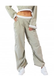 Pantaloni Hip Hop din tafta gri
